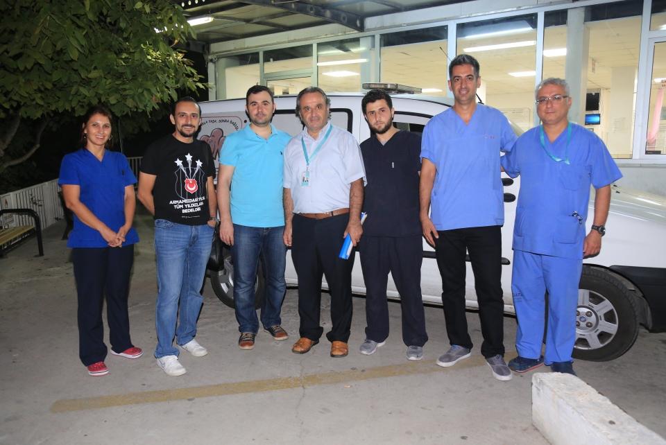 Bağışlanan organlarıyla üç hasta yaşama tutunacak