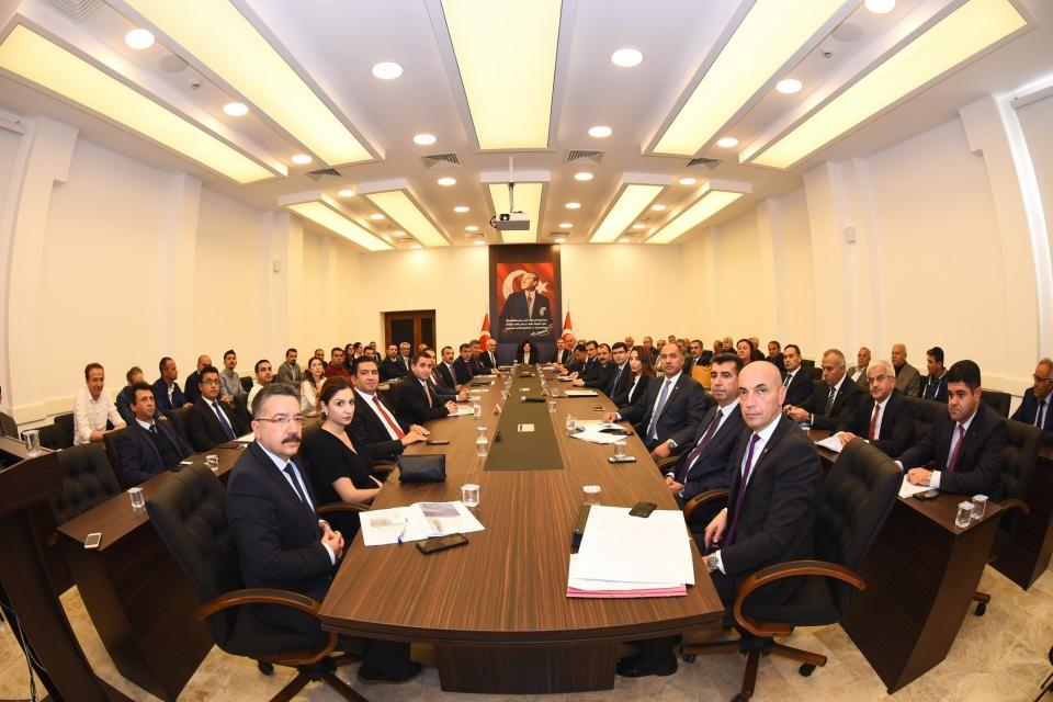 Muğla'da Ekonomi Değerlendirme Toplantısı yapıldı