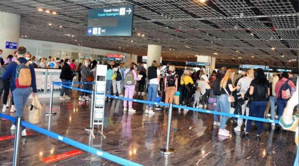 9 ayda 908 bin yabancı turist ağırladı