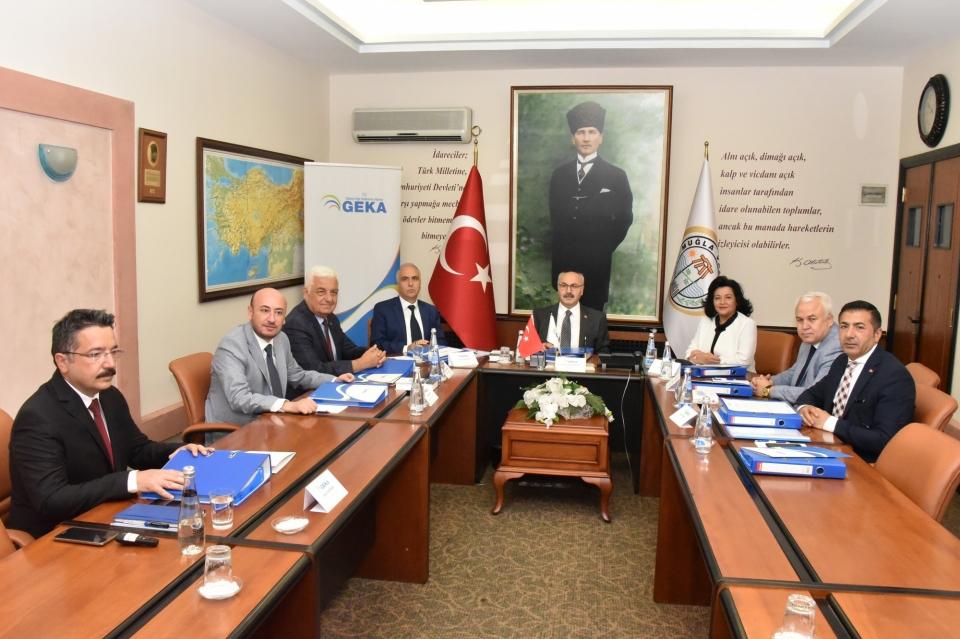 GEKA 98. Yönetim Kurulu Toplantısı Muğla'da Yapıldı