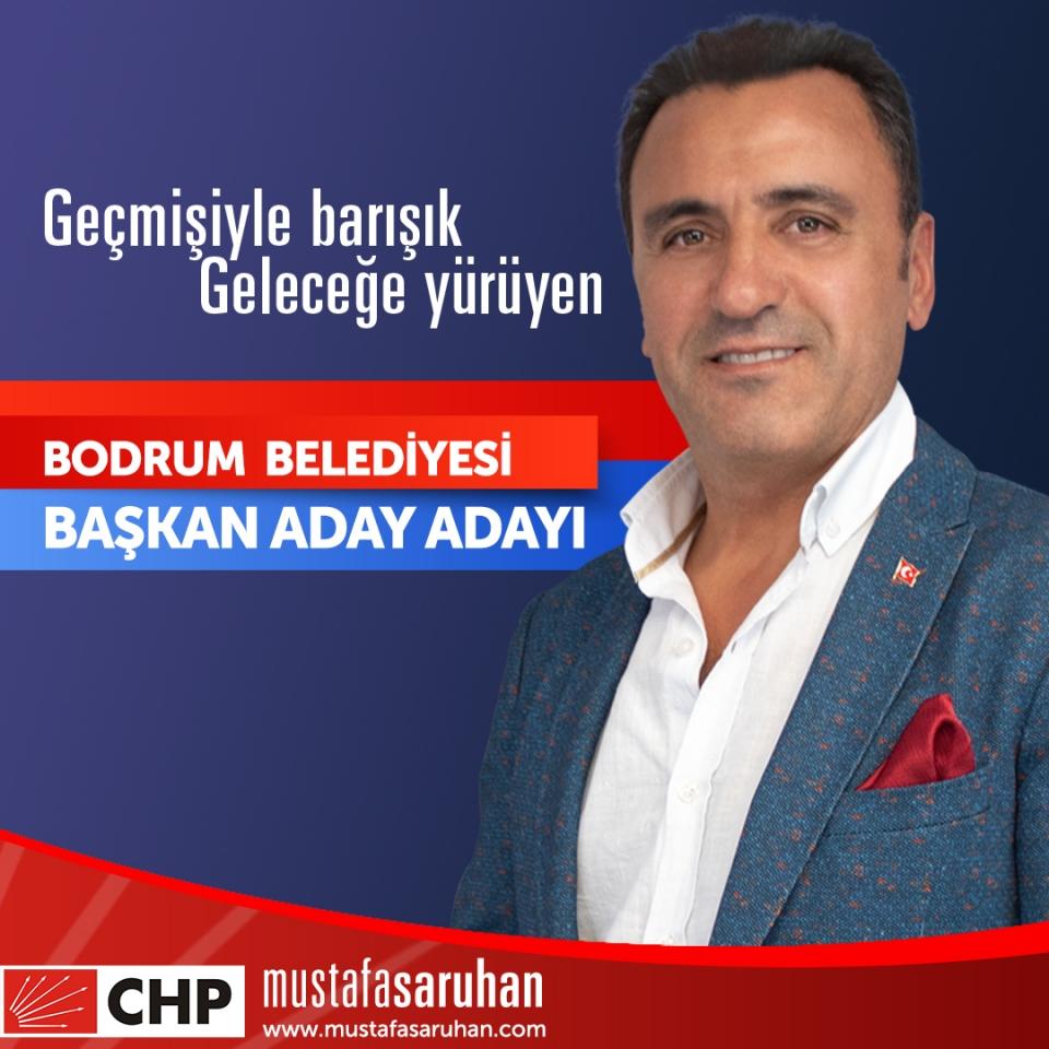 Mustafa Saruhan Bodrum Belediye Başkan Aday Adayı oldu