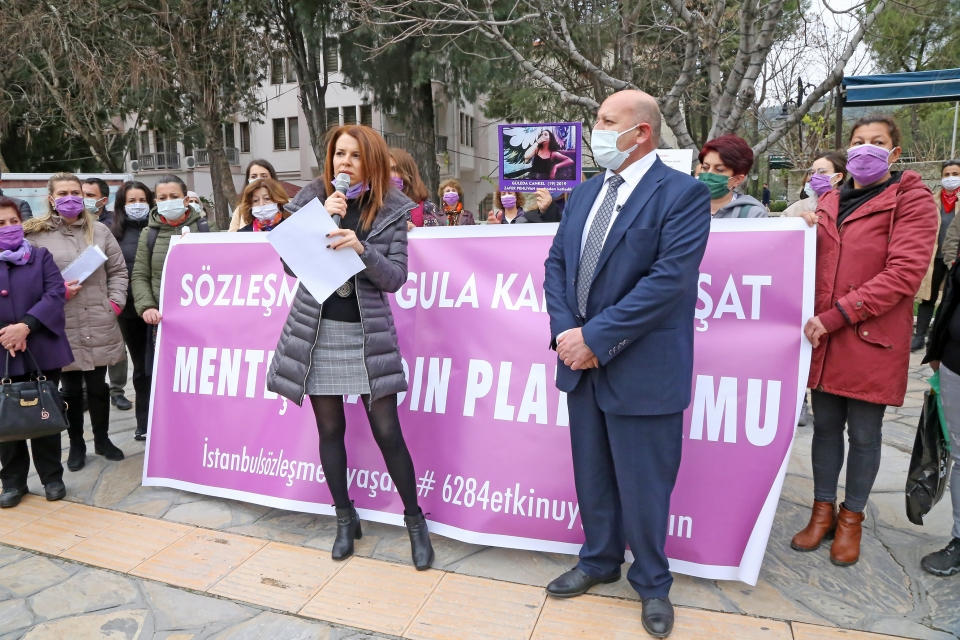 Güleda Cankel'in ailesi ve kadın platformu üyelerinden istinaf başvurusunun reddedilmesine tepki