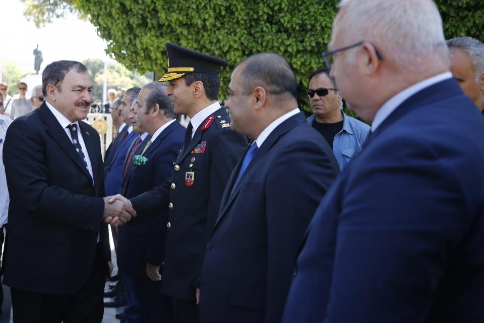 Orman ve Su İşleri Bakanı Veysel Eroğlu, Muğla'da
