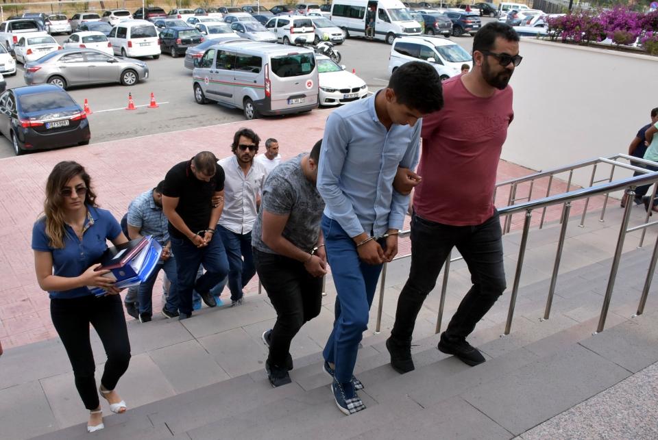 Gözaltına alınan 7 zanlıdan 5'i tutuklandı