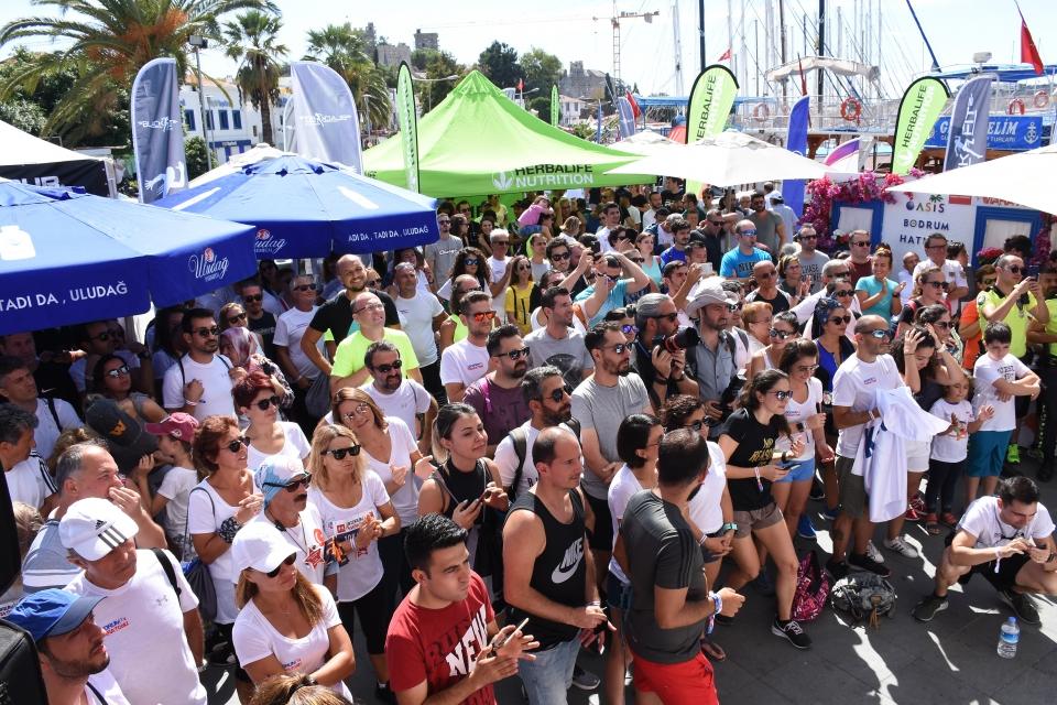 Under Armour Bodrum Yarı Maratonu düzenlendi