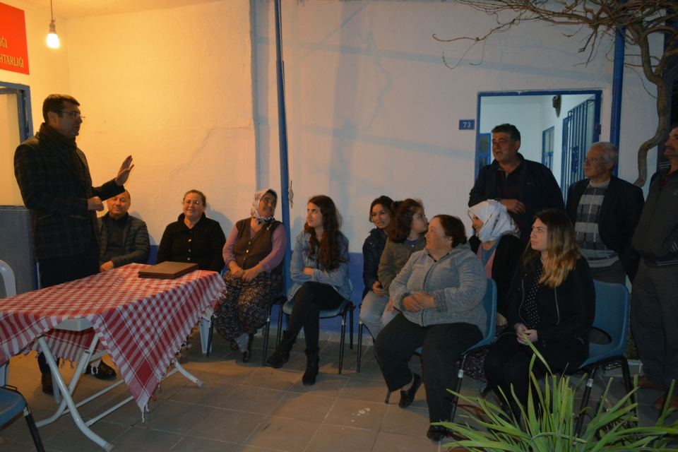 MEHMET TOSUN MAHALLE TOPLANTILARINA DEVAM EDİYOR