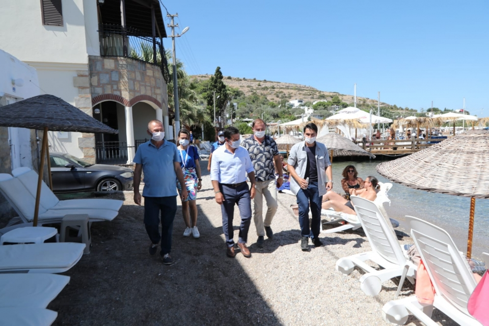 Aras, Torba ve Gölköy'de incelemelerde bulundu