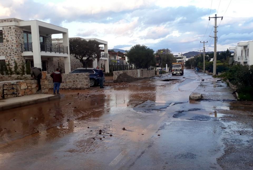 Ortakent'te içme suyu hattında 4. patlama