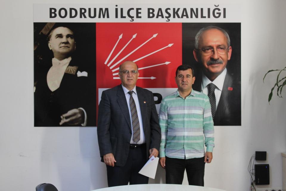 BODRUM CHP'DE GÖREV DEĞİŞİKLİĞİ