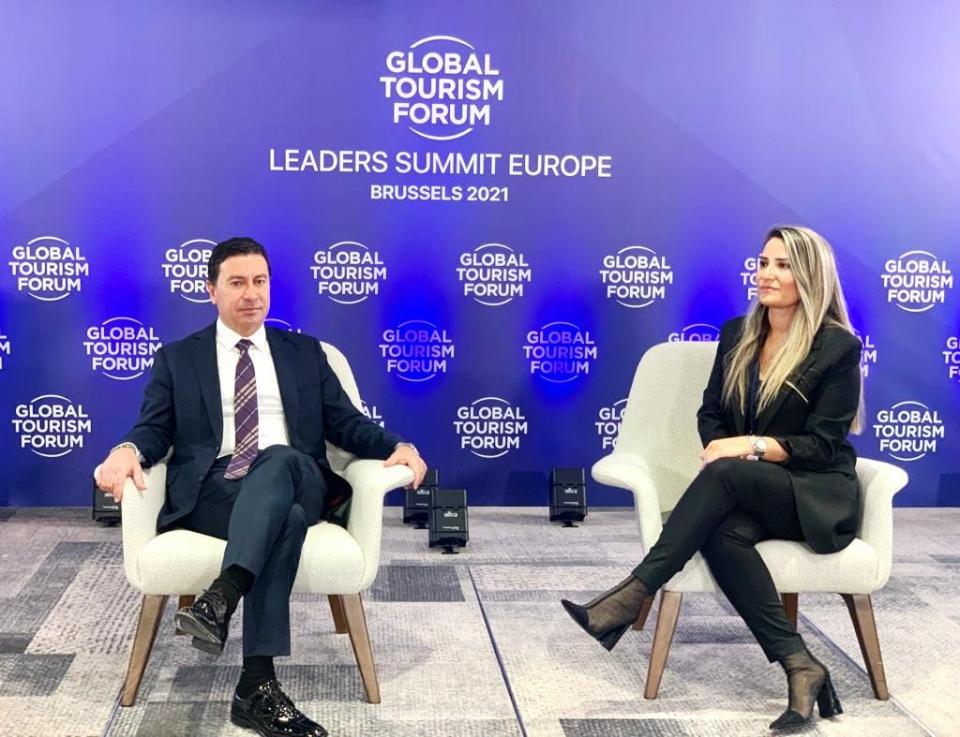 Aras Global Turizm Forumu'nda Türkiye'yi temsil ediyor
