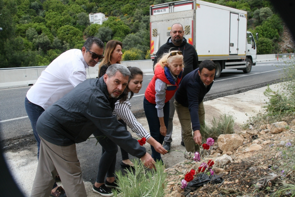 TÜRSAB tur kazası kurbanlarını andı