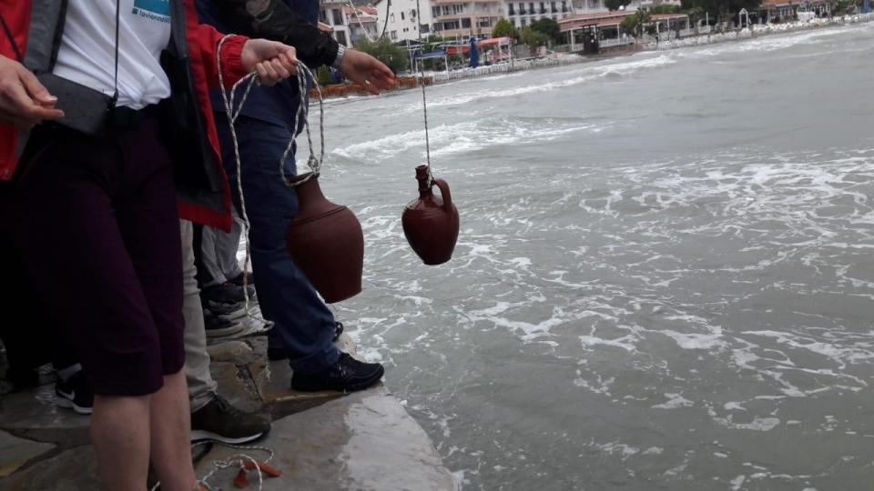 Akdeniz'den Ege'ye dostluk için yürüdüler