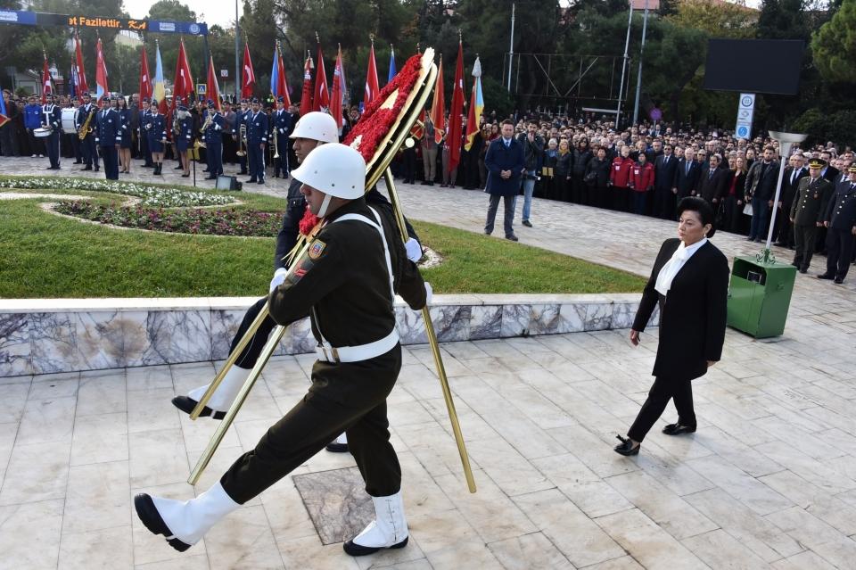 Büyük Önder Gazi Mustafa Kemal Atatürk Saygıyla Anıldı