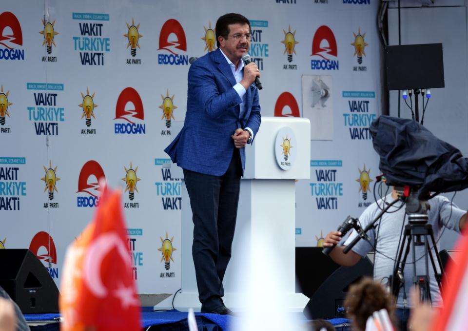 Ekonomi Bakanı Nihat Zeybekci:Türkiye yine bu sene büyümede rekorlar kıracak
