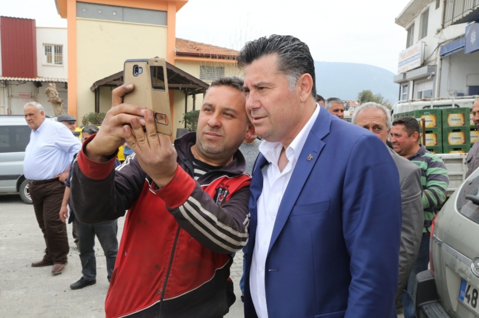 Milas'ın köylerinden Mehmet Kocadon'a yoğun ilgi