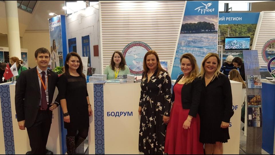 Bodrum Moskova'da tanıtıldı