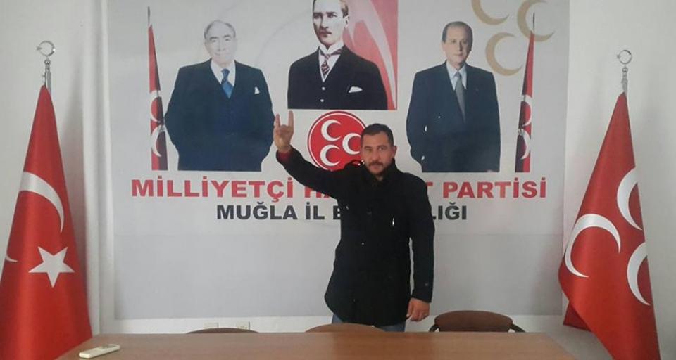 Sinan Yılmaz MHP Milas İlçe Başkanı seçildi