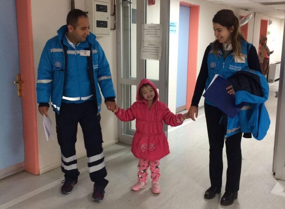 Minik kalp hastası için  Büyükşehir harekete geçti