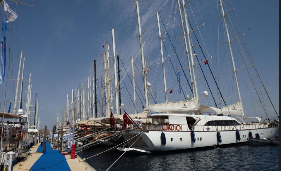 1. Uluslarası Yacht Charter Show başladı