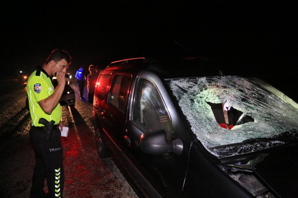 Otomobilin çarptığı yaya yaşamını yitirdi