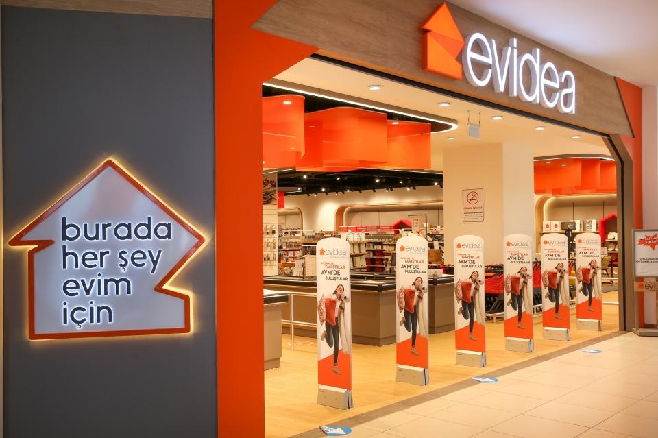 Yeni Evidea mağazası  Bodrum Midtown Alışveriş  Merkezi'nde kapılarını açtı