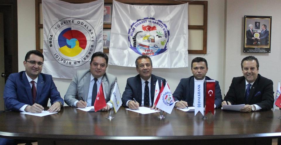 MİTSO, KOBİ'lere Nefes Kredisi verilmesi için dört banka ile protokol imzaladı
