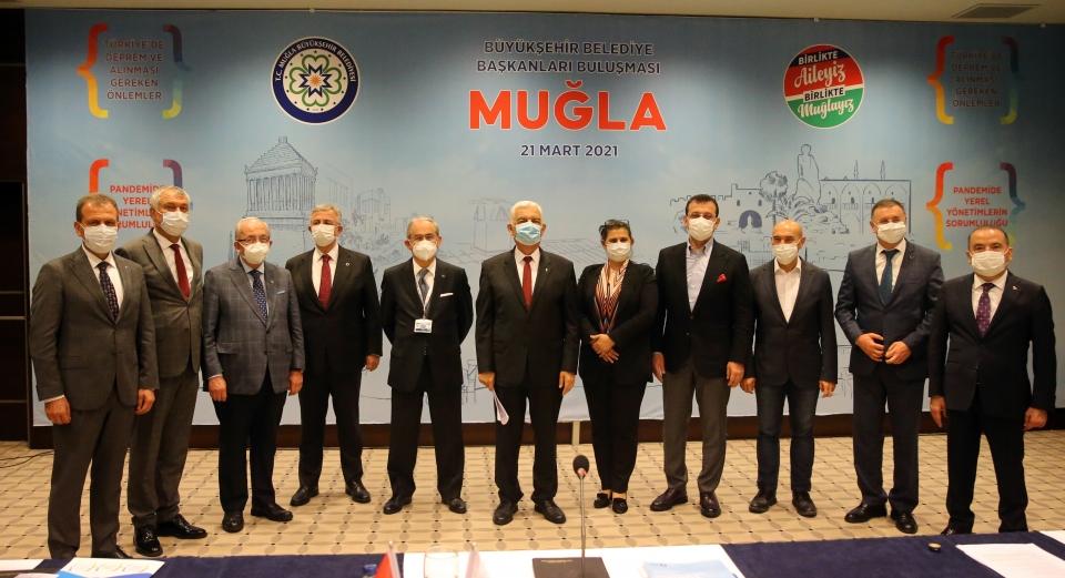 Bodrum'da düzenlenen CHP'li büyükşehir belediye başkanları toplantısı sona erdi
