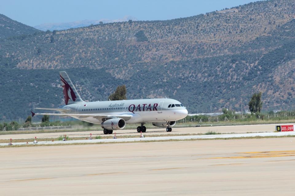 Qatar Airways Milas-Bodrum Havalimanına İlk Uçuşu Yapıldı
