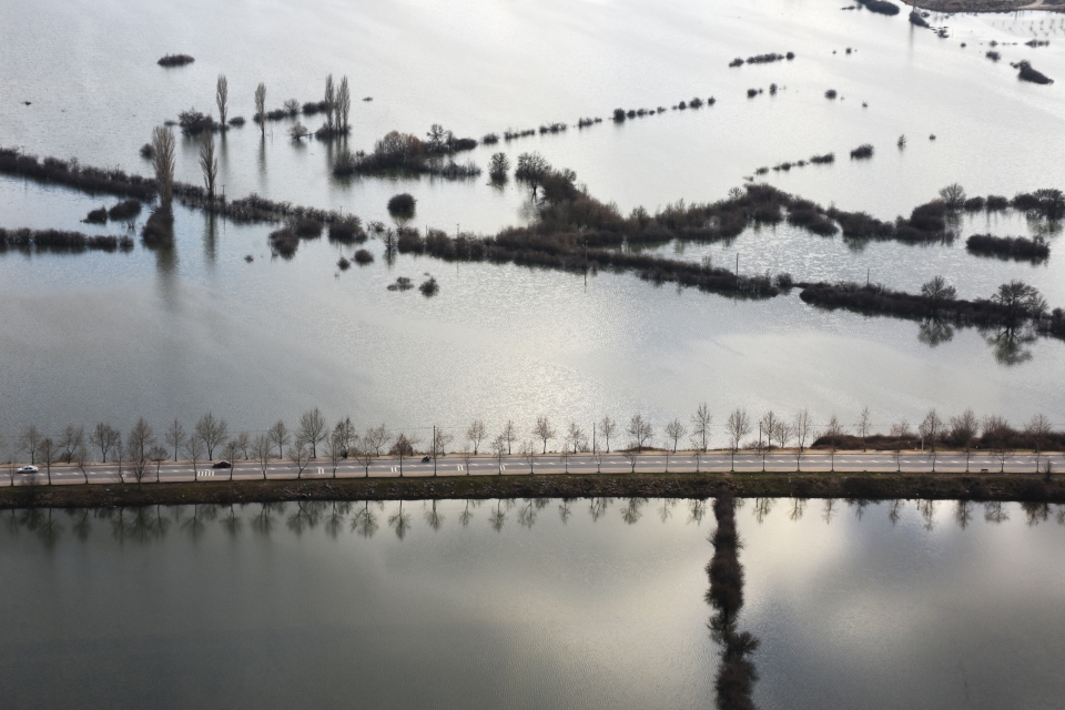 Muğla'da son 5 yılın en yüksek yağışı kaydedildi