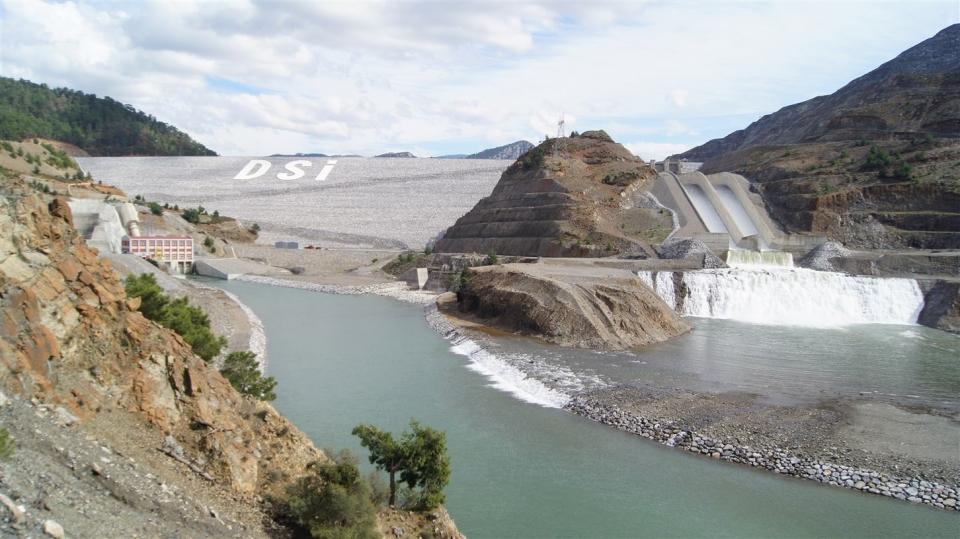 Dalaman Akköprü Barajı'nda  1,3 milyar kilovat saat enerji üretildi