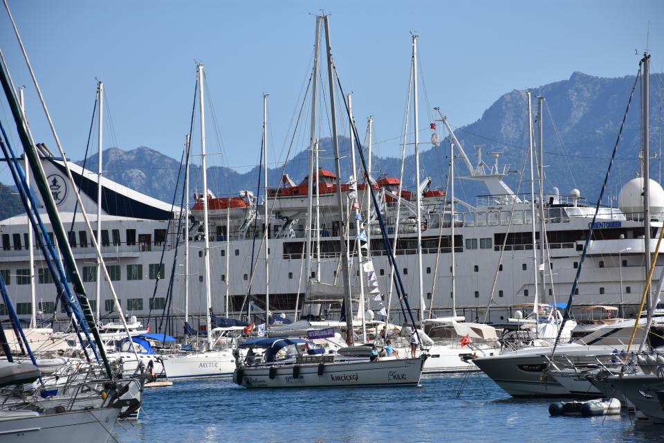 Kadın yelkencilerden barış seyriDoğu Akdeniz-Kıbrıs Barış Seyri