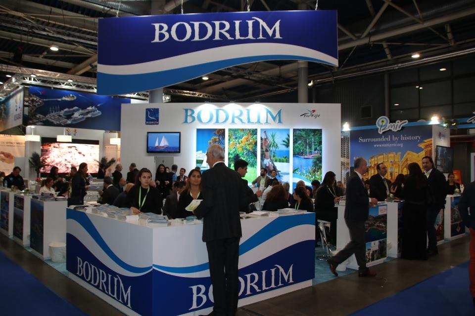 Bodrum, Hollanda Utrecht Turizm Fuarında