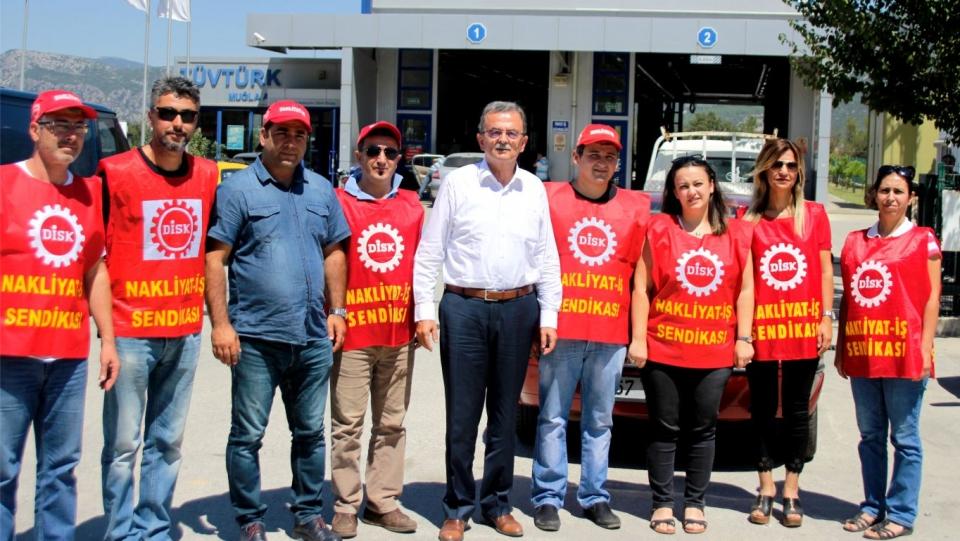 Süleyman Girgin, Direnişçi İşçilerin sesini TBMM'ye taşıdı
