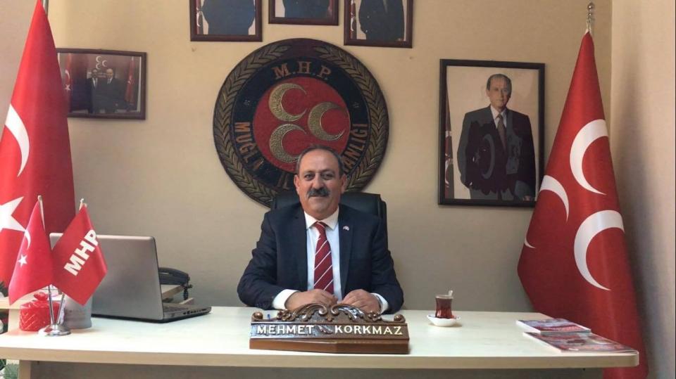 """MHP Muğla İl Başkanı Mehmet Korkmaz'dan """"Nevruz"""" açıklaması"""