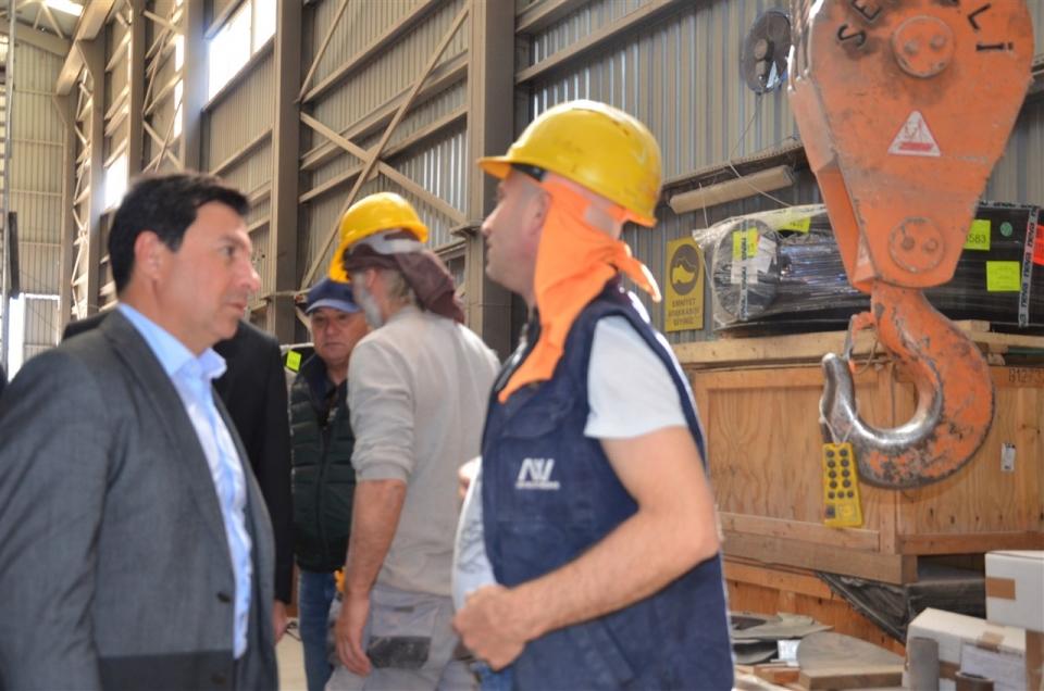 Aras: Bodrum'un Yat İmalat Sektörü için Kolları Sıvadık