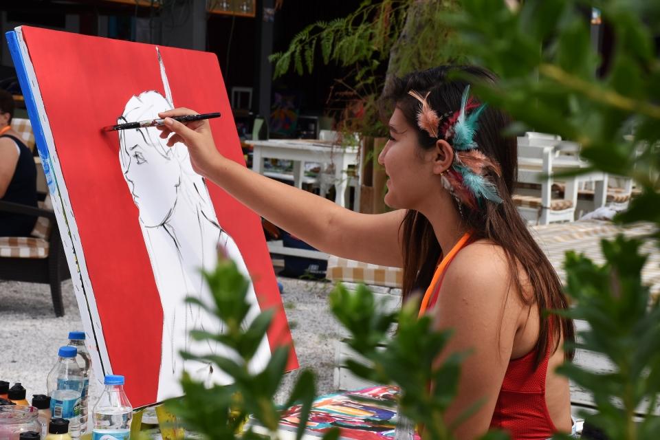 Ressamlar çalıştayda buluştu