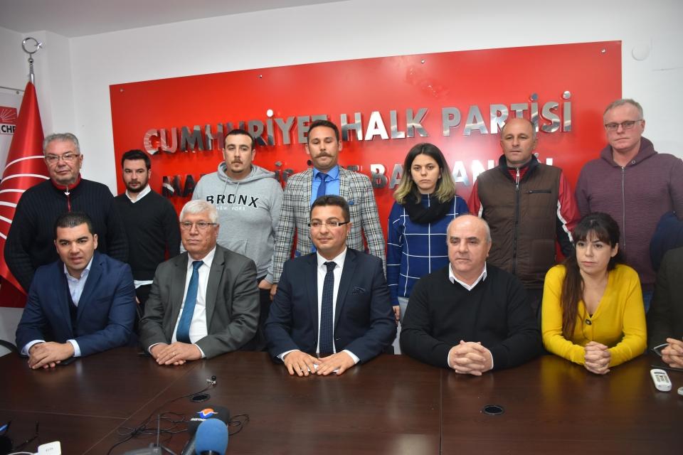 CHP Marmaris ilçe yönetimi istifa etti