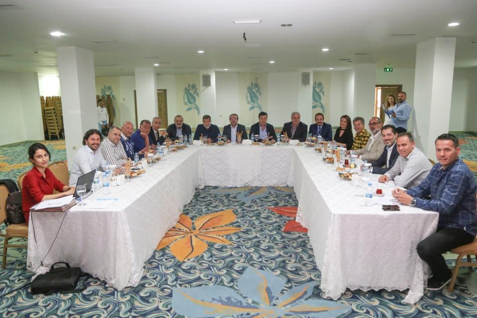BOTAV Yönetim Kurulu toplandı