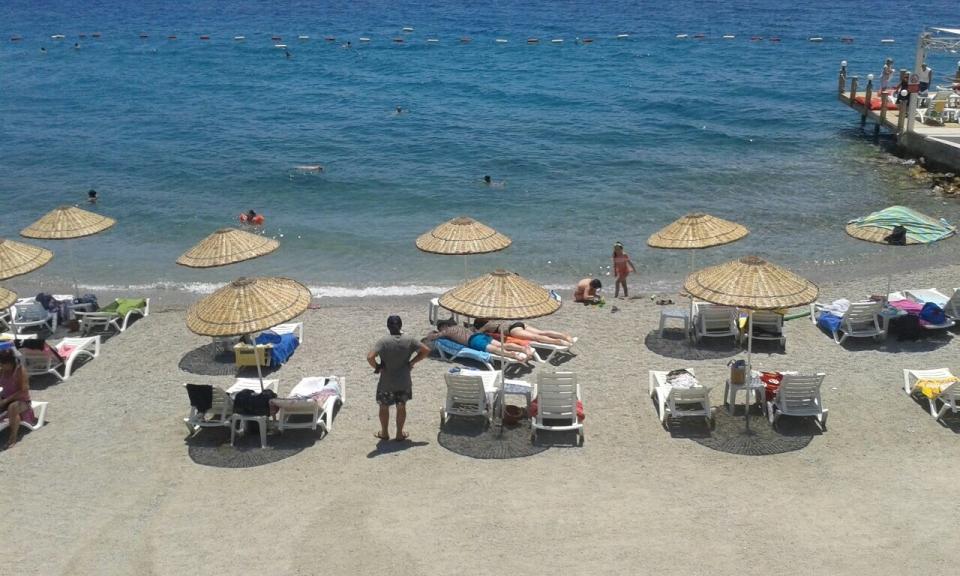 Plajlar kalabalıklaşıyor