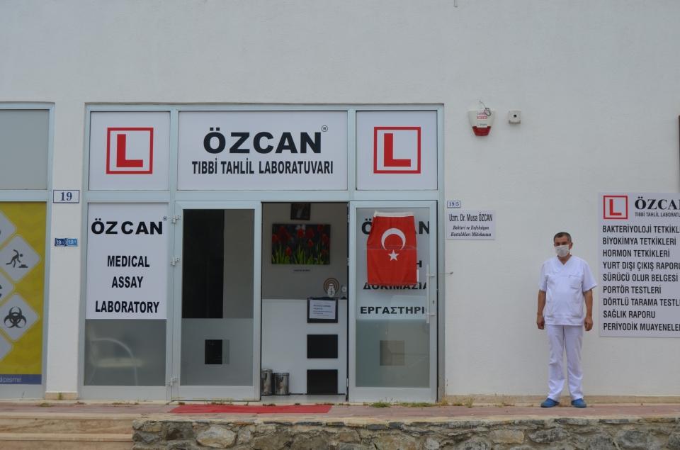 Bodrum'da Özcan Tıbbi Tahlil  Laboratuarı hizmete açıldı