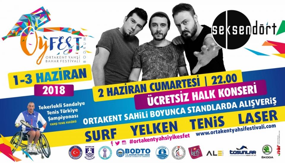 Bodrum'un bahar festivali OYFEST 2018 başlıyor