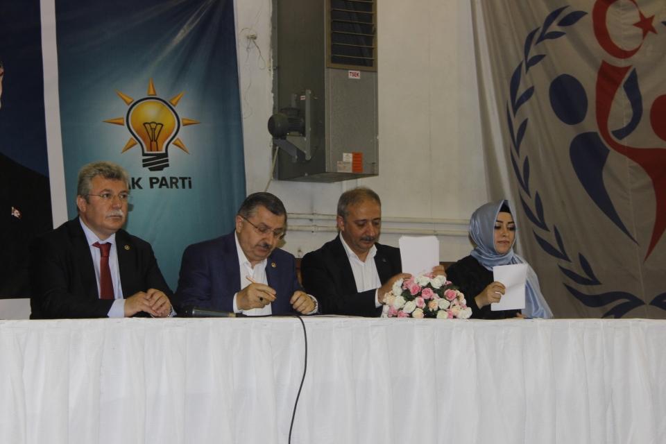 AK Parti Muğla'da il teşkilatında temayül yoklaması yapıldı