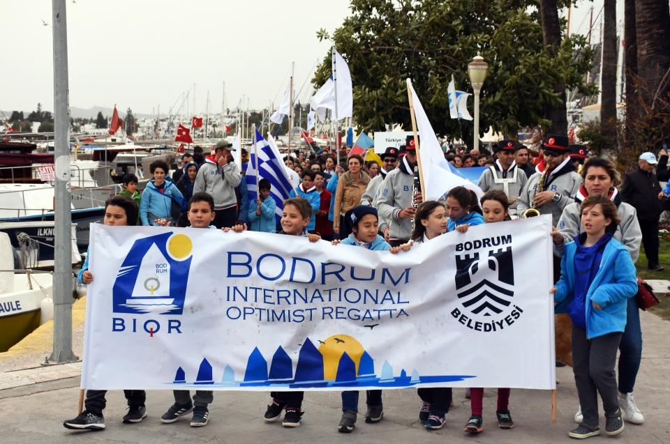 6. Bodrum Uluslararası Optimist Yarışları başladı