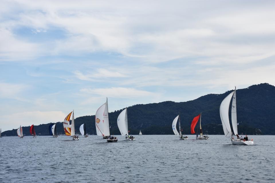 Yakıtı rüzgar olan yelkenliler, Marmaris turizminin can suyu