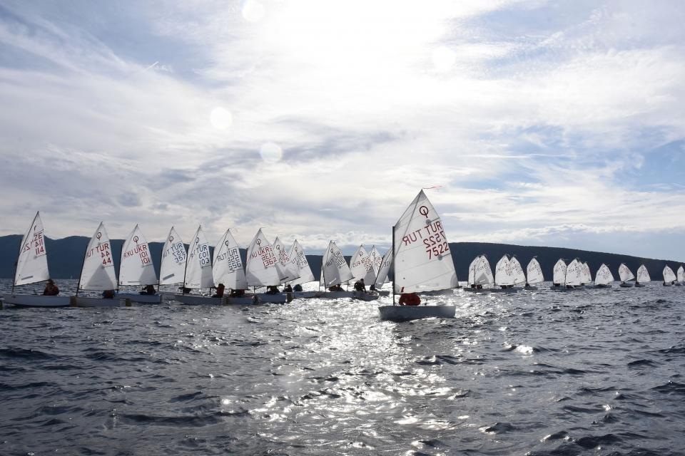 1. Mandalin Kupası Yelken Yarışları sona erdi