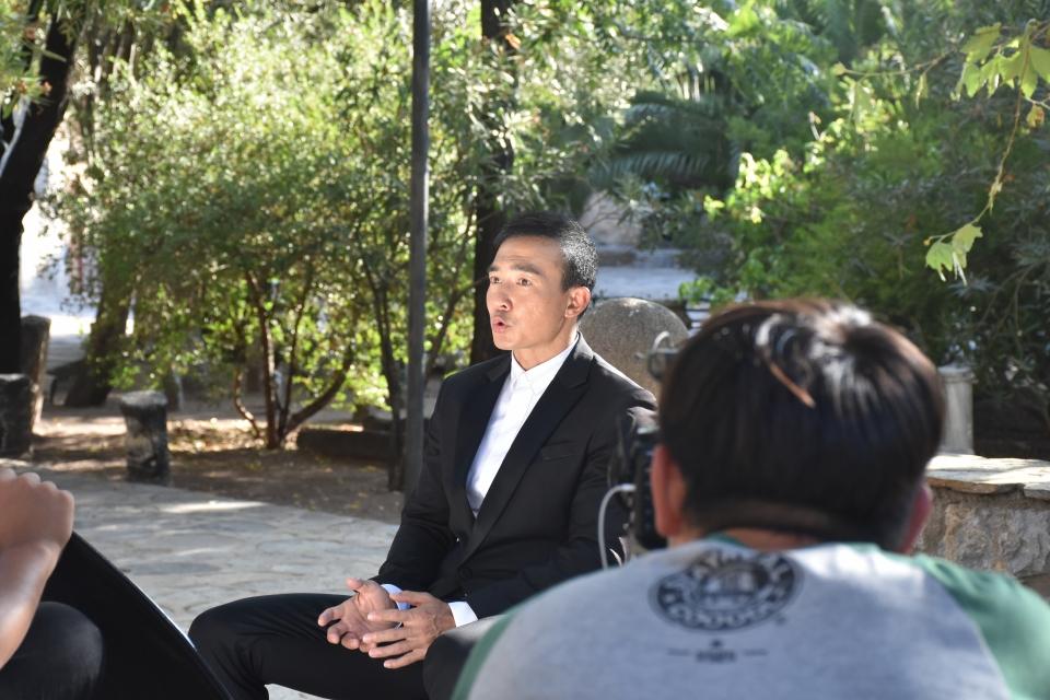 Çinli televizyon yıldızı Bodrum'da