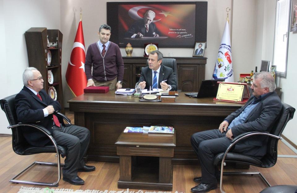 MAYBİR yönetimi MİTSO'da toplandı