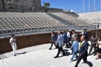 Kültür ve Turizm Bakanı Mehmet Nuri Ersoy Turizmden maksimum  gelir elde etmemiz lazım