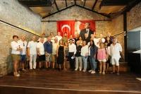 Başkan Aras, Bodrum basını ile buluştu