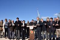 Vali Civelek, Bodrum'da 47 milyon Euro'luk Rüzgar Enerji Sanralinin açılışını yaptı